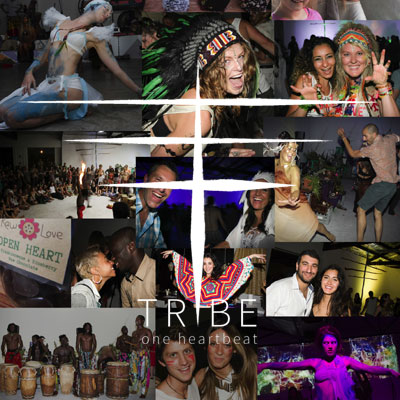 Tribe One Heartbeat event website demonstration.