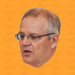 The Scott Morrison ScoMo Edition Soundboard.